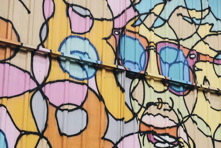 Une ambiance street-art
