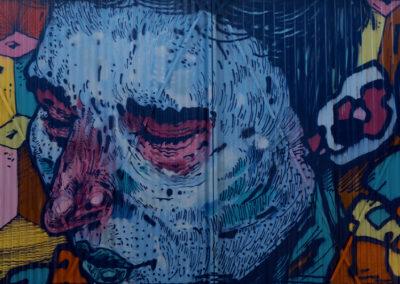 Une galerie de street-art