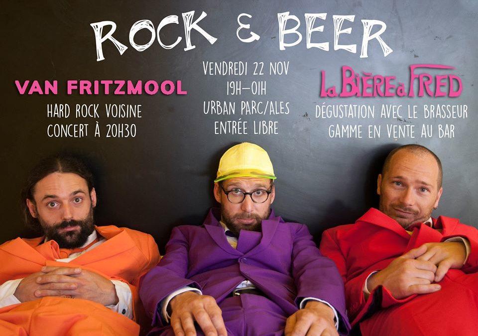 Vendredi 22 Novembre : Rock & Beer (Concert et dégustation)